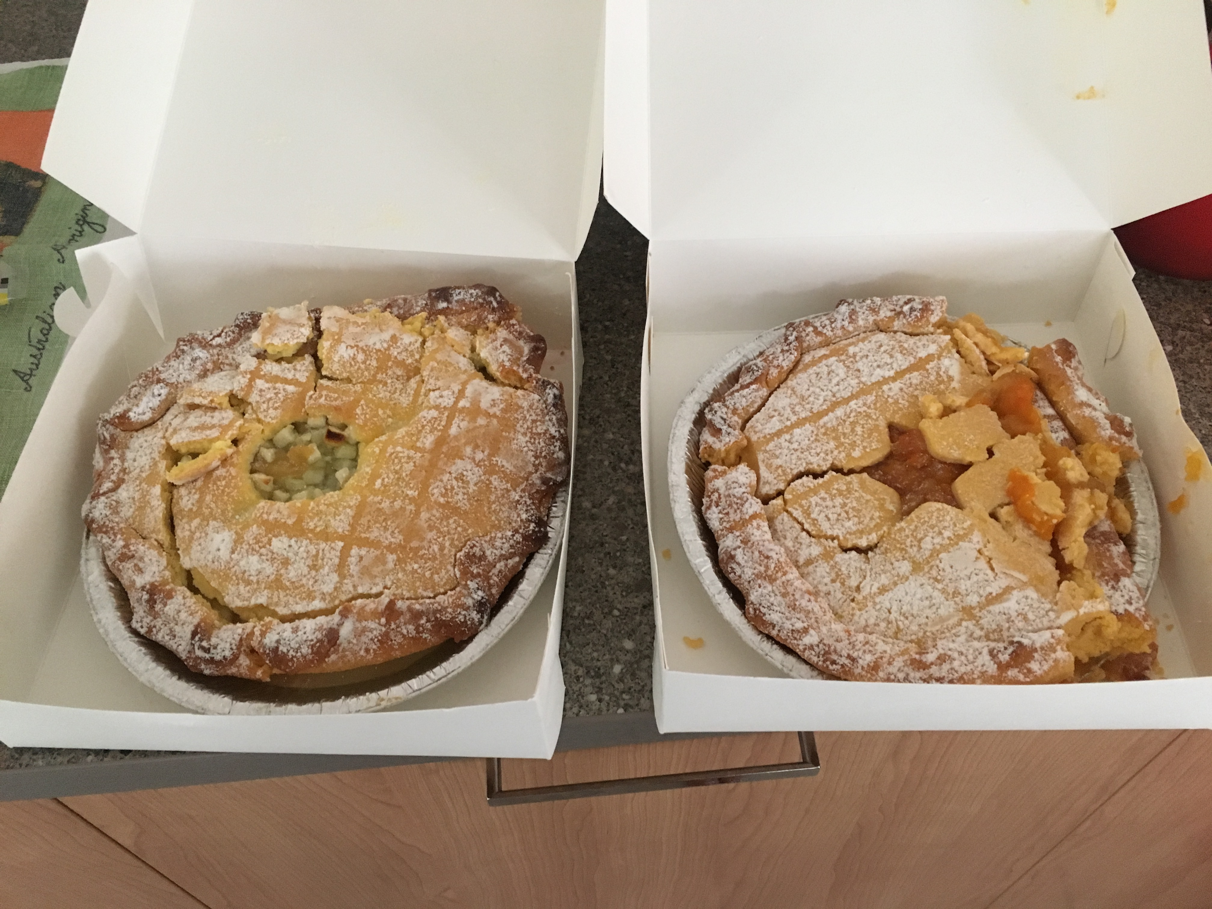 Pies that don't sweat the small stuff