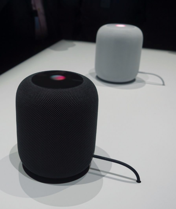 HomePod and its permanent plug