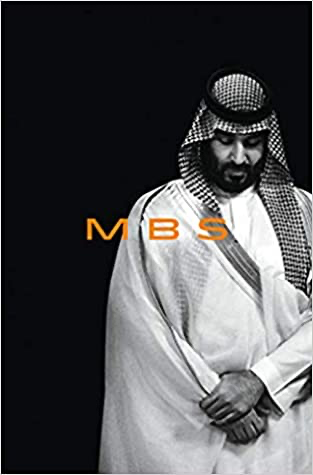"""""""MBS: The Rise of Mohammed bin Salman"""" book cover"""
